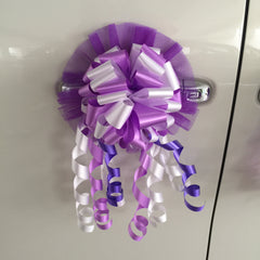 Accompany Car Ribbon Ball Decoration II - ACC0771