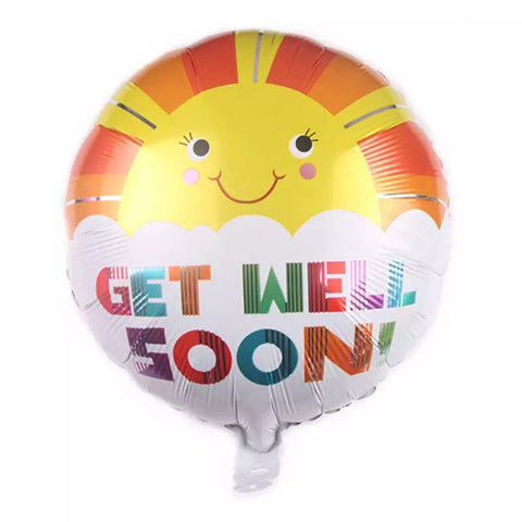 Get Well Soon Balloon ( Non Helium) - BAL0166