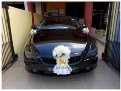 Simple Theme Car Decoration - WED0651