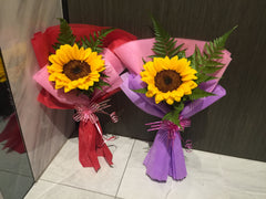 Single Sunflower Bouquet- FBQ1324val