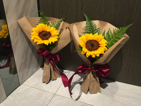 Single Sunflower Bouquet- FBQ1325