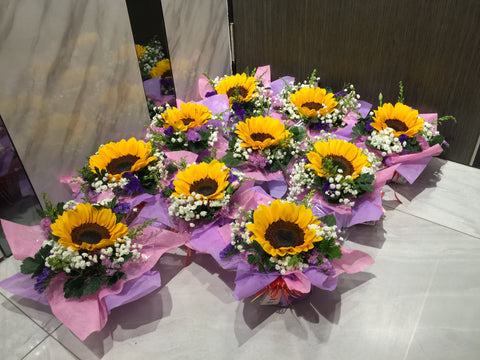 Single Sunflower Arrangement- FBQ1314