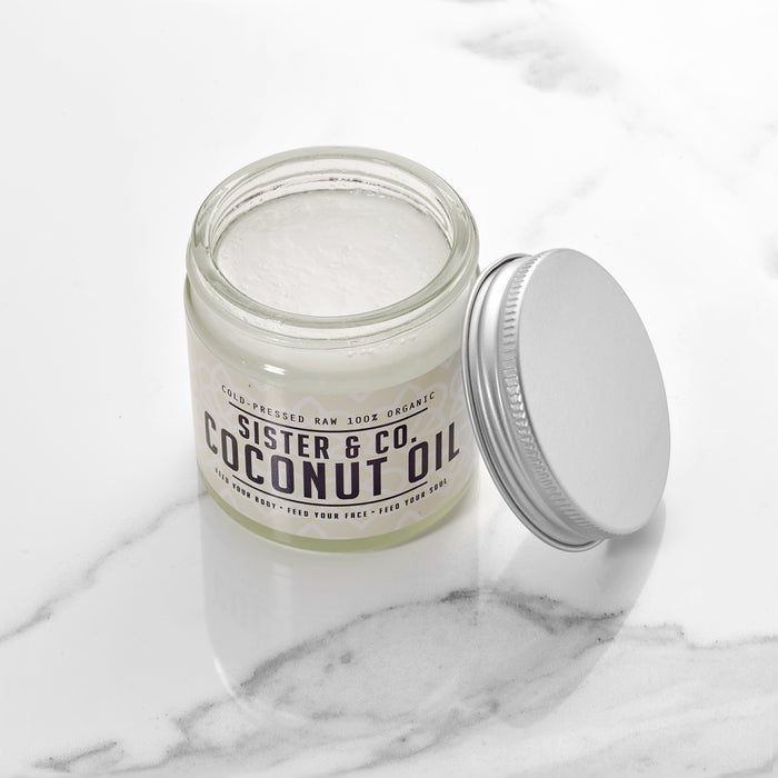 Raw Cold-Pressed Coconut Oil