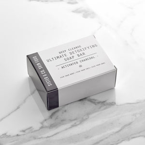 Deep Cleanse Detoxifying Activated Charcoal Soap Bar
