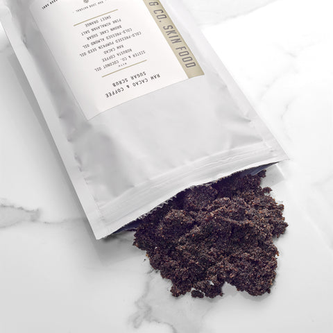 Coconut Sugar Scrub - Raw Cacao + Coffee