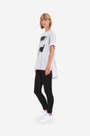 "Leeda: top - COTTON T-SHIRT ""WAVE"""