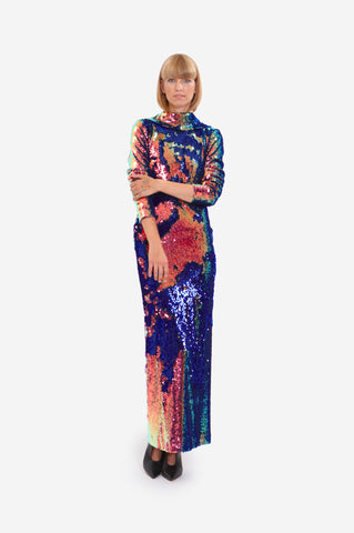 "MAXI DRESS ""SIDE WIND"""