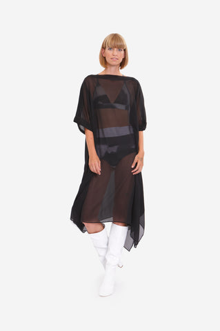 SHEER LONG TUNIC