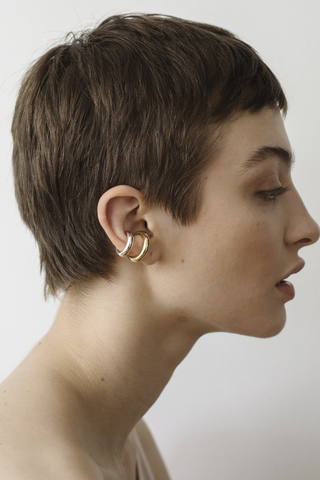 SASKIA DIEZ KISMET FAKE NOSE RING