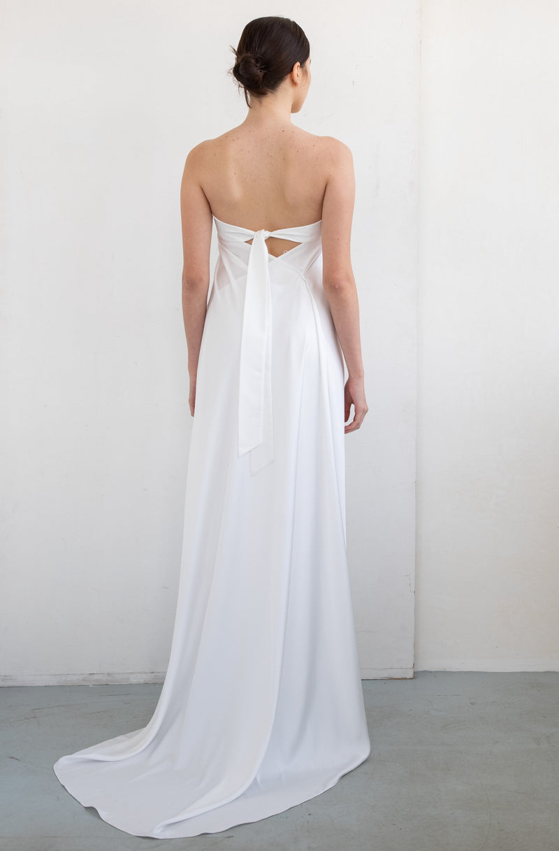 WEDDING SIMPLE DRESS
