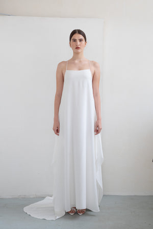 VIVI SILK WEDDING DRESS