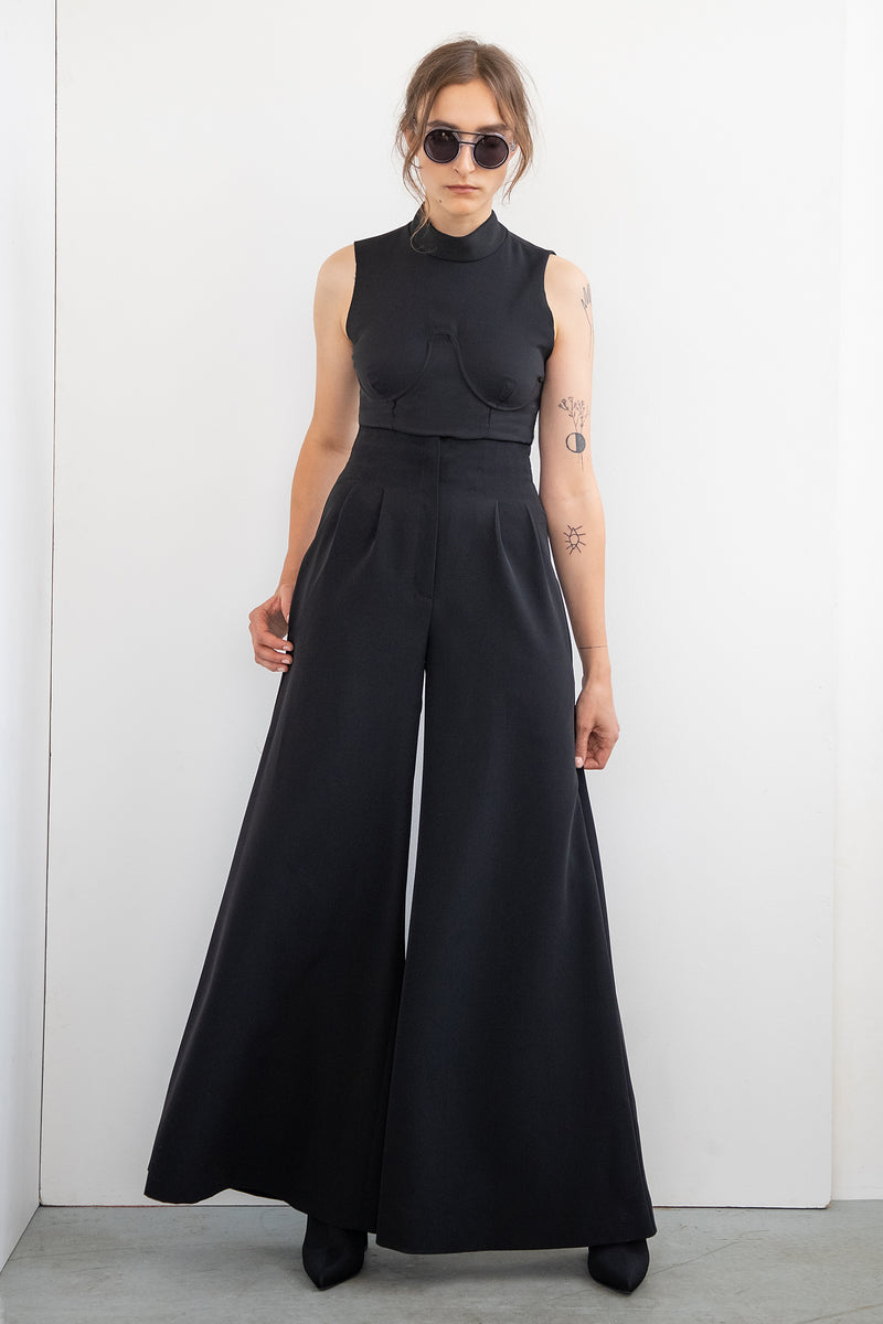 "HIGH WAIST TROUSERS ""TOUCH ME"""