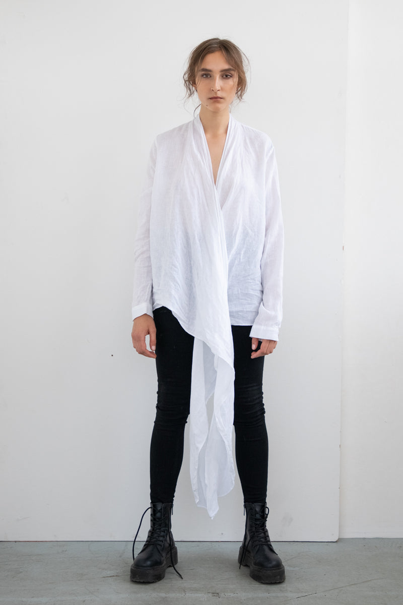 SALOME WRAP SHIRT