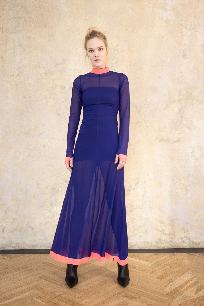 Leeda: dress - VIOLET DRESS VAMP