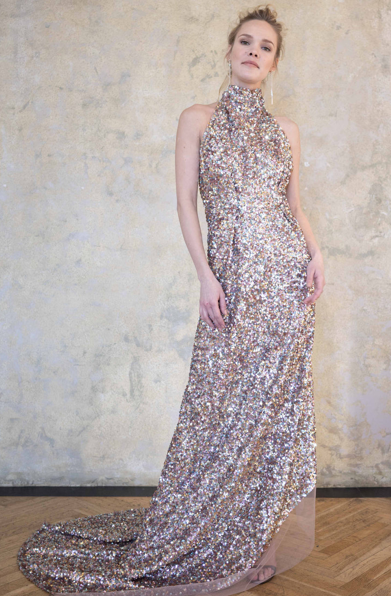 Leeda: dress - EXCLUSIVE SEQUIN DRESS