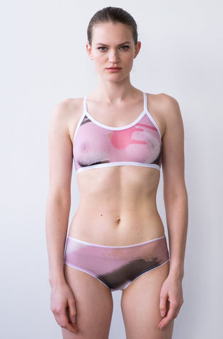 TYNA SURF SWIMSUIT IN PINK