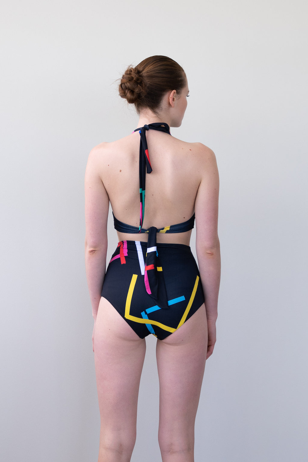 Leeda: brief - HIGH WAISTED BIKINI BOTTOM