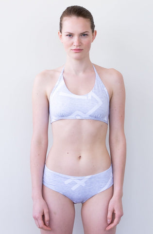 TYNA SURF SWIMSUIT IN GREY