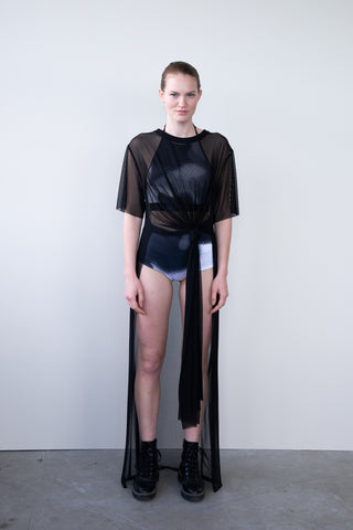 "ASYMMETRIC DRESS ""CHAMELEON"""