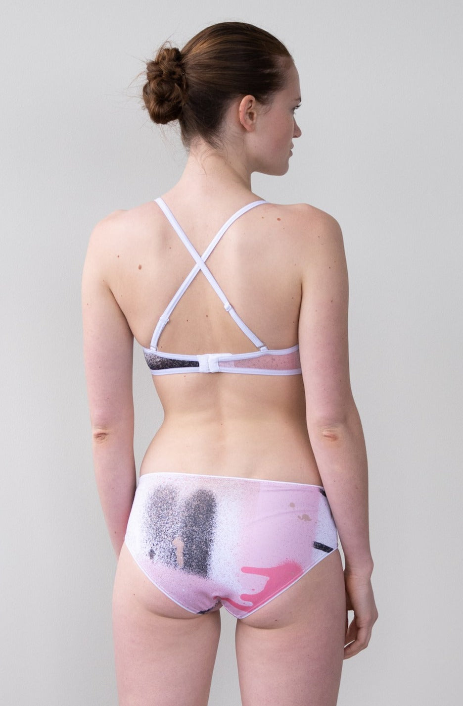 Leeda: brief - MID RISE BRIEF IN PINK