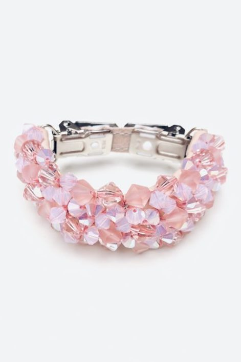 Leeda: accessories - PINK CLIP / BRACELET BY METRÁŽ
