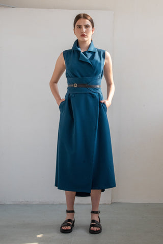 SIMPLE WRAP DRESS