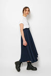 MIDI SKIRT WITH BELT