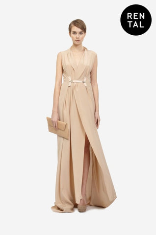 TURTLENECK MAXI DRESS - RENTAL