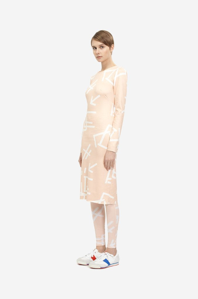 Leeda: dress - ELASTIC DRESS