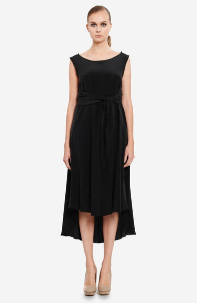 Leeda: dress - OCCASION WRAP DRESS