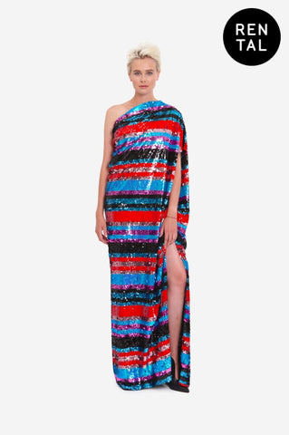 "MAXI DRESS ""SIDE WIND"" - RENTAL"