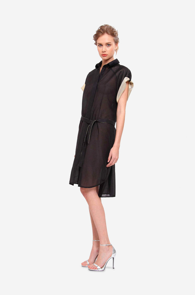 Leeda: dress - SHIRT DRESS