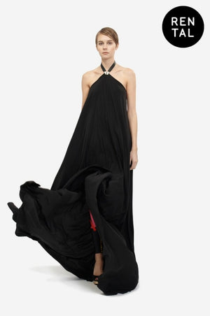 Leeda: dress - SILK GOWN - RENTAL