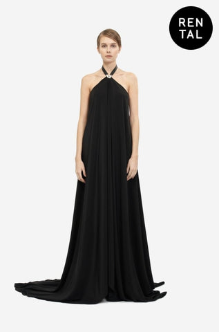 MAXI SILK DRESS - RENTAL