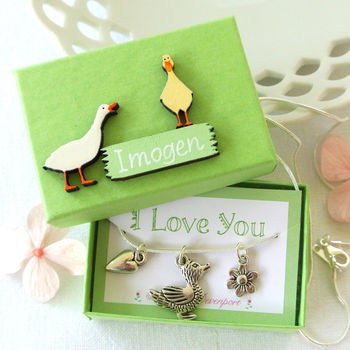 Baby Duck Necklace