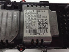 "BMW 528i 535i 550i F10 OEM 10"" NAVI LCD DISPLAY CIC CID 09266385 9284974 9289008"