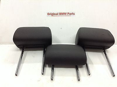 BMW 528i 535i 550i F10 OEM REAR HEAD REST SEAT BLACK HEADREST