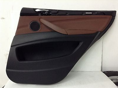 BMW E70 X5 35ix OEM RIGHT REAR DOOR PANEL NEVADA BROWN 3639172