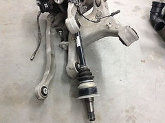 BMW 528i 535i F10 LEFT REAR KNEE SUSPENSION CONTROL ARM CALIPER SPINDLE