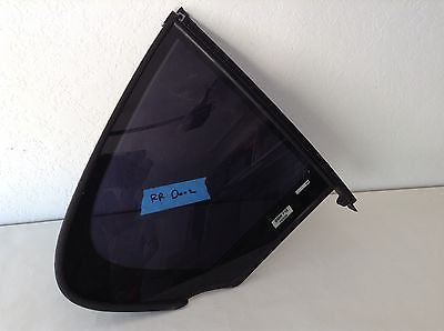 BMW F10 OEM RIGHT REAR QUARTER VENT WINDOW GLASS  528i 535i 550i M5 7311246