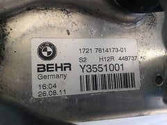 BMW F10 OEM COOLER WITH HOSES 17217614173