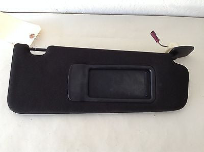 BMW F10 OEM BLACK SUNVISOR RIGHT FRONT PASSENGER 528i 535i 550i M5 2011 2012 13