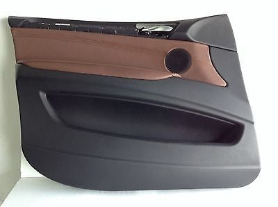 BMW E70 X5 35ix OEM FRONT LEFT DRIVER DOOR PANEL NEVADA BROWN 3639172