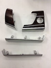 BMW E70 X5 OEM WALNUT TRIM KIT 11 PIECES