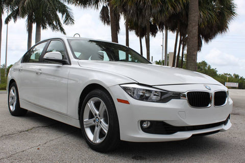 2015 BMW 328i F30 SEDAN 9k MILES WHITE SUNROOF 2.0 TURBO