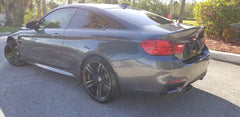 2015 M4 Coupe 31k mls DCT TRANS/ GRAY / RED LEATHER NAVI CAM
