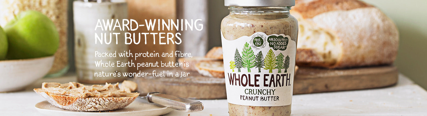 Award-Winning Nut Butters