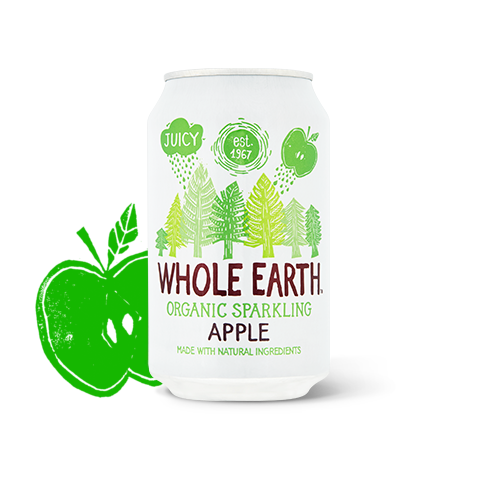 Lightly Sparkling Organic Apple Drink 330ml