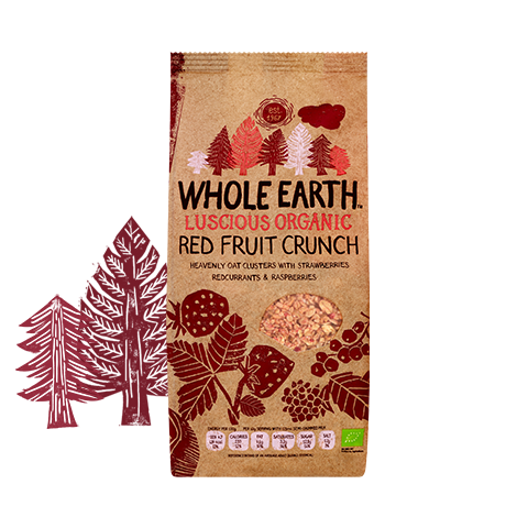 Organic Red Fruit Crunch 450g
