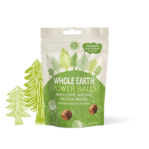 Power Balls Pumpkin, Chia & Flax Seeds 50g